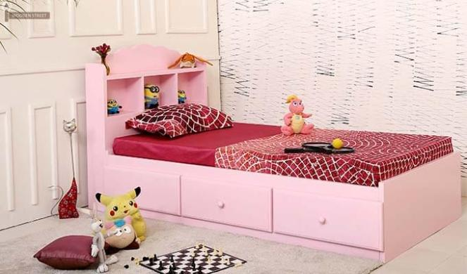 pink-kids-bed