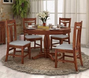 round-dining-set