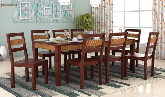 Five Pretty Accessories To Deck Up The 8 Seater Dining Table Home And Stuffs